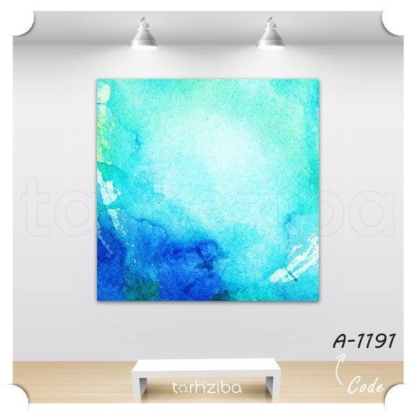 تابلو عکس نقاشی رنگ آبی