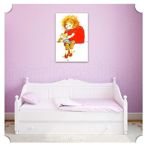 فروش تابلو تزیینی اتاق کودک دختر