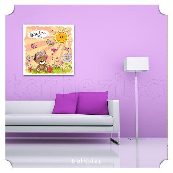 تابلو اتاق کودک مژده بهار