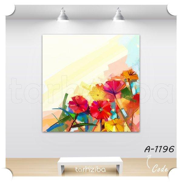 تابلو عکس گلهای زیبا