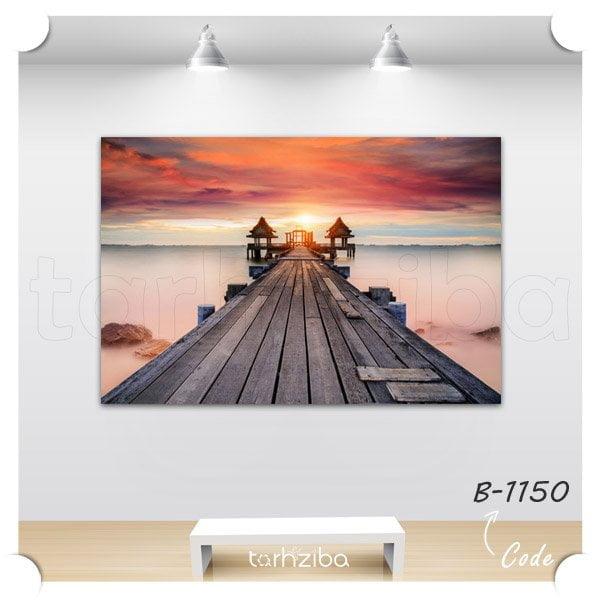 خرید تابلو عکس ساحل زیبا