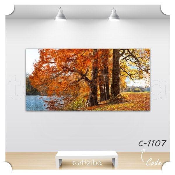 فروش تابلو طبیعت و منظره پاییزی