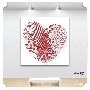 خرید تابلو دیواری عاشقانه