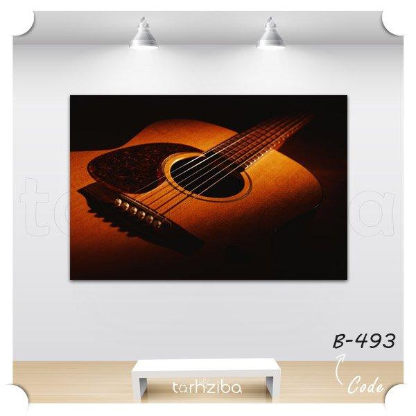 تابلو دکوری گیتار آکوستیک