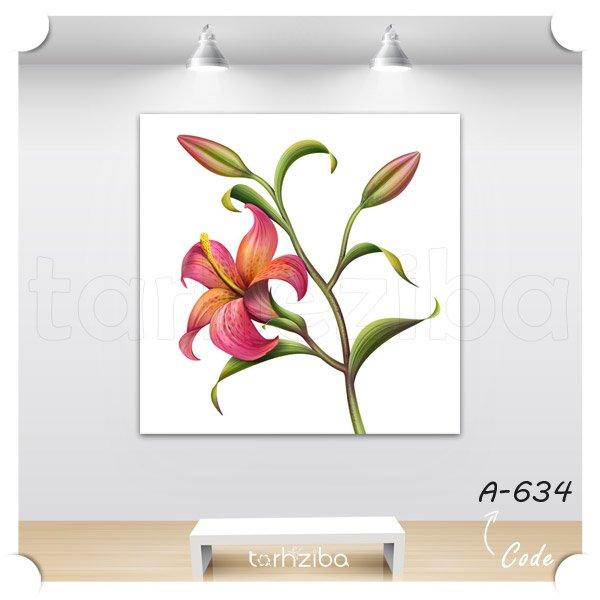 تابلو عکس گل لیلیوم