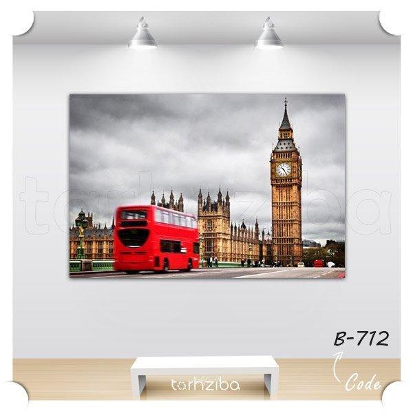 تابلو دکوری شهر لندن