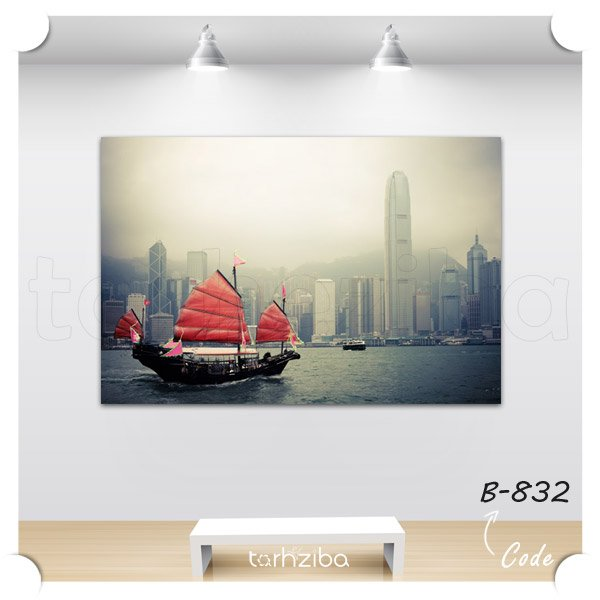 فروش تابلو شهر هنگ کنگ
