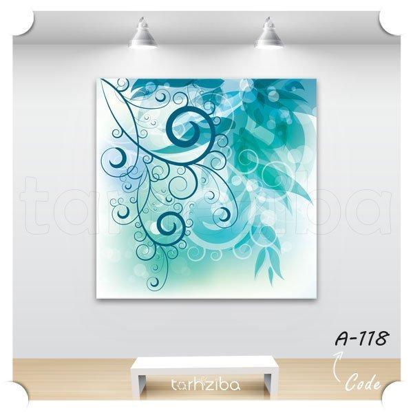تابلو فانتزی آبی رنگ