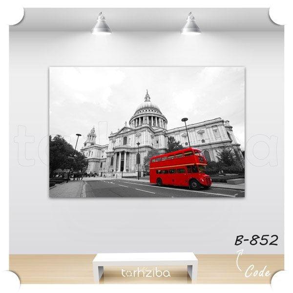 تابلو شاسی اتوبوس قرمز