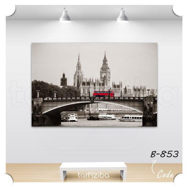 مدل تابلو دکوری شهر لندن