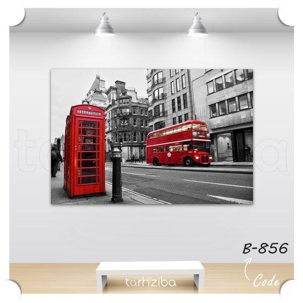 تابلو دیواری دیدنیهای شهر لندن