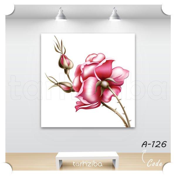 تابلو عکس گل رز