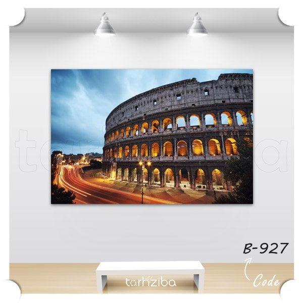 تابلو عکس رم ایتالیا