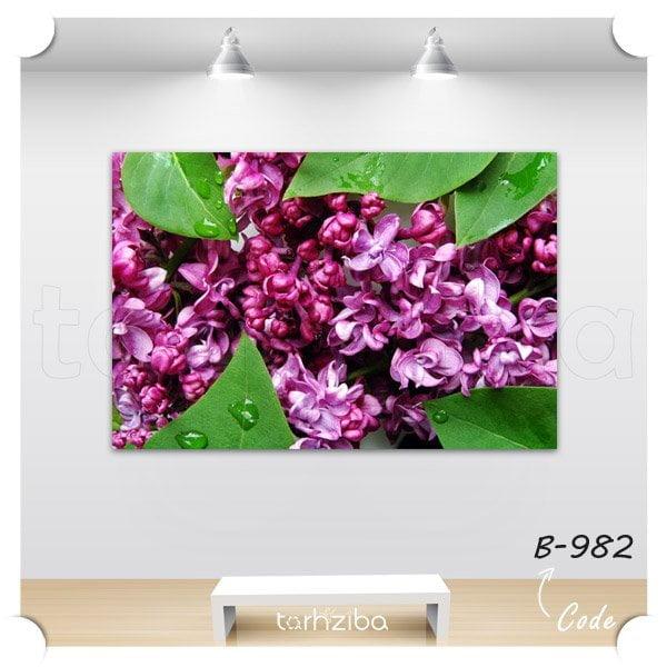 تابلو دکوری شکوفه یاس