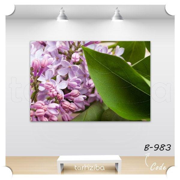 تابلو دیواری شکوفه گل یاس
