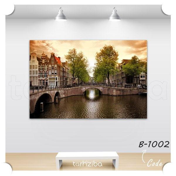 تابلو عکس دیدنیهای آمستردام