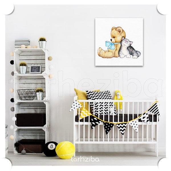 خرید تابلو اتاق کودک و نوزاد