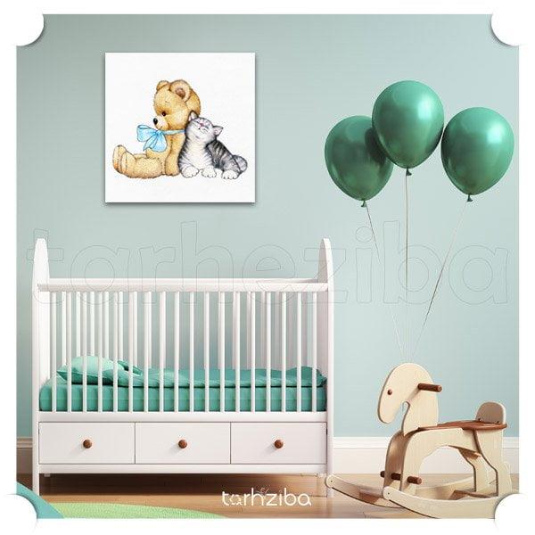 تابلو اتاق کودک و نوزاد