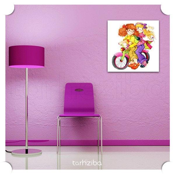 فروش تابلو اتاق کودک دختر