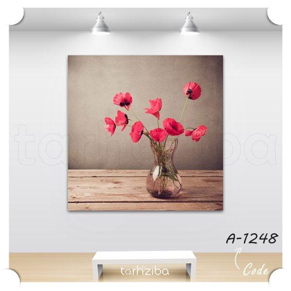 فروش اینترنتی تابلو مدرن گلهای زیبا