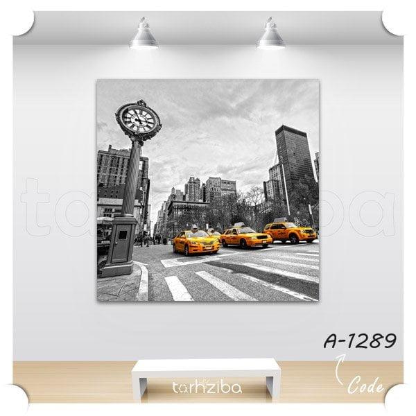 تابلو مدرن تاکسی نیویورکی