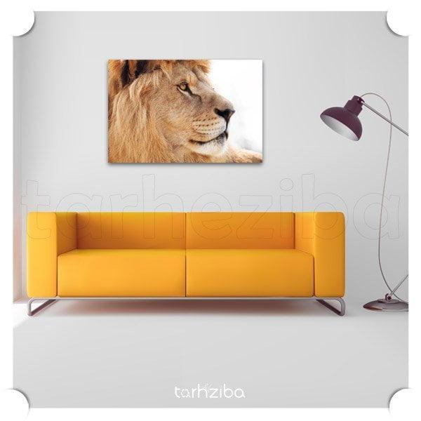 تابلو دیواری نیمرخ سلطان شیر