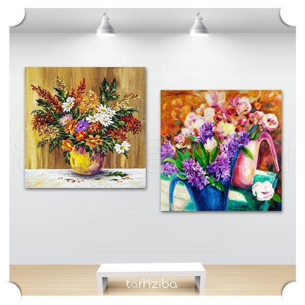 خرید اینترنتی تابلو گل های زیبا