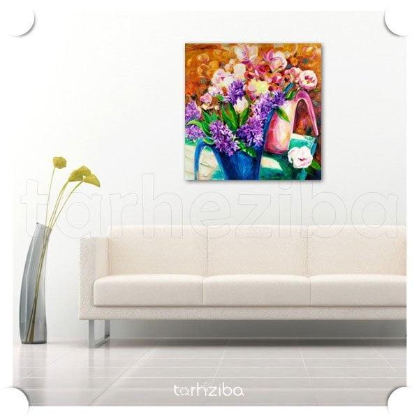 مدل تابلو عکس گل سنبل