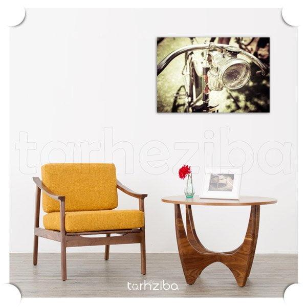 تابلو دکوراتیو دوچرخه کلاسیک