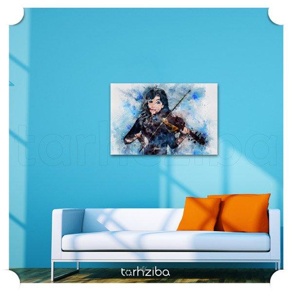 تابلو عکس اتاق بانوان