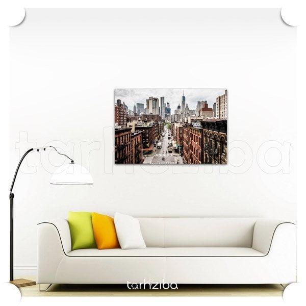 تابلو تزیینی منهتن از بالا