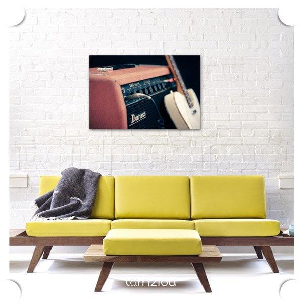تابلو دیواری به صرف موزیک