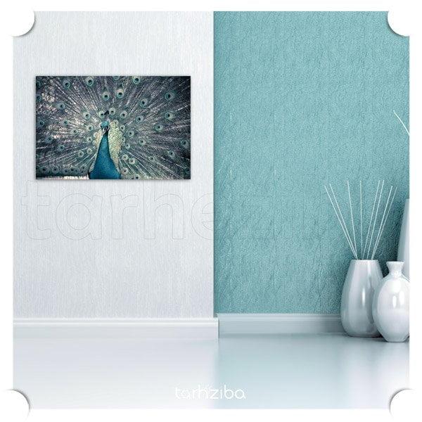 تابلو دیواری طاووس زیبا
