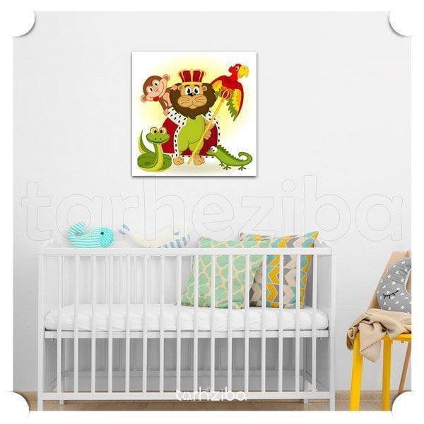 خرید تابلو اتاق نوزاد پسر