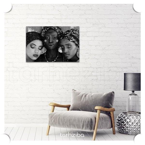 تابلو شاسی بانوان آفریقایی