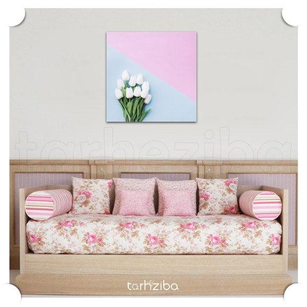 تابلو عکس گل های زیبا