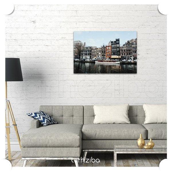 تابلو دیواری سفر به آمستردام
