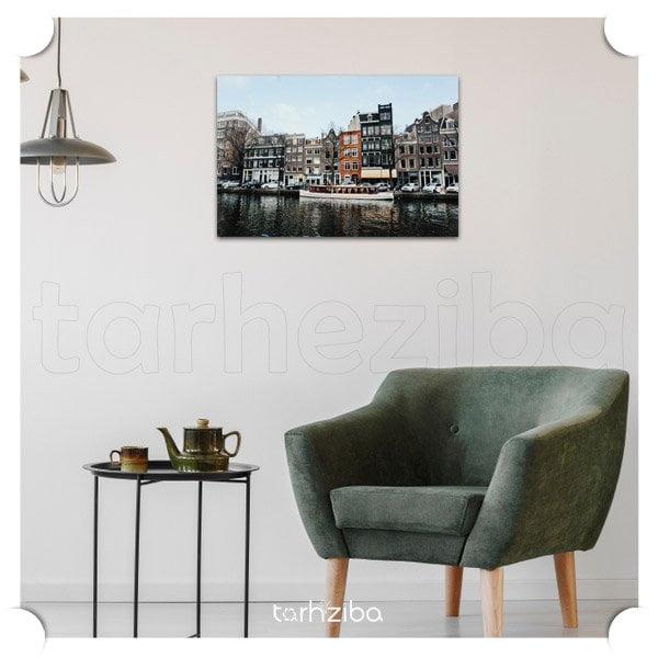 تابلو عکس سفر به آمستردام
