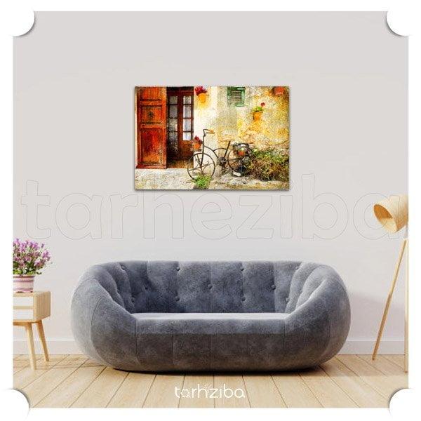 تابلو عکس دیواری با طرح سنتی
