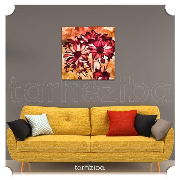 مدل تابلو شاسی شیک و زیبا با طرح و عکس گلها