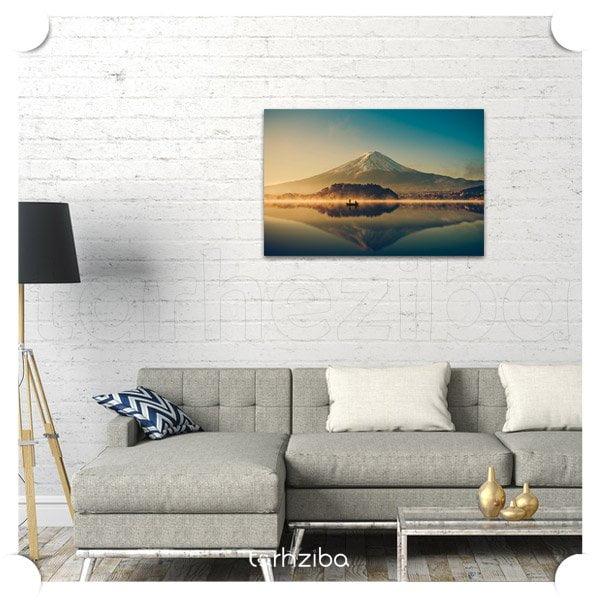 تابلو عکس دیواری و دکوراتیو منظره کوهستان