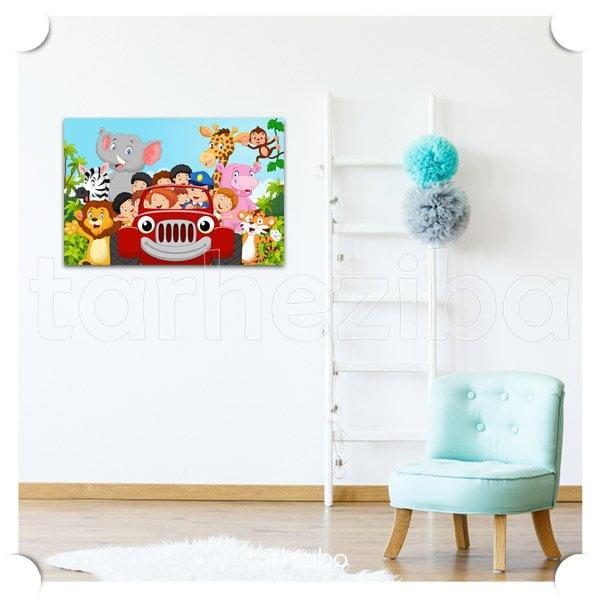 خرید تابلو فانتزی اتاق کودک نوزاد
