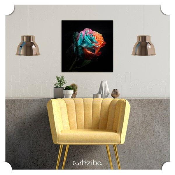 خرید تابلو دیواری و تزیینی با طرح گلهای زیبا