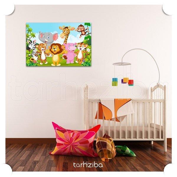 خرید تابلو اتاق نوزاد دختر و پسر