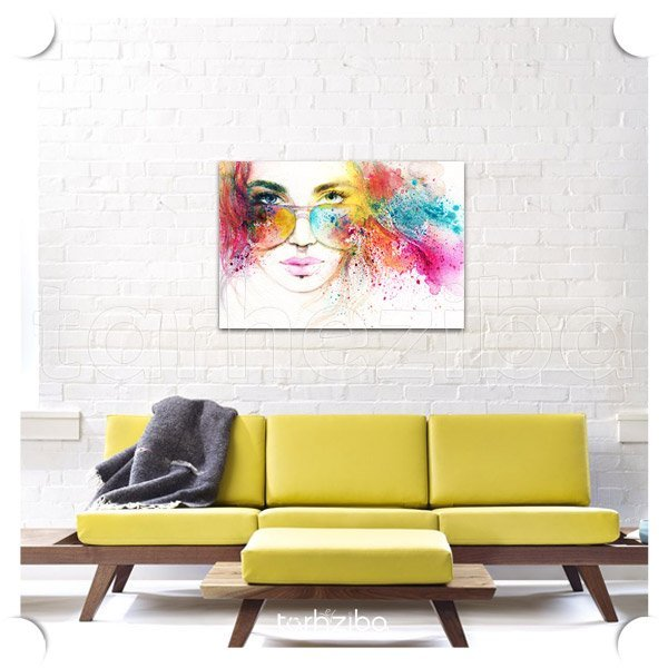 تابلو عکس تزیینی اتاق بانوان و خانم ها