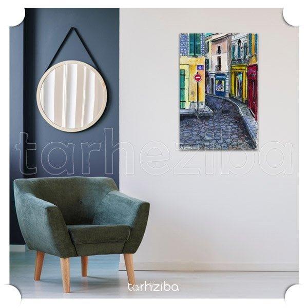 مدل جدید تابلو دیواری و تزیینی برای اتاق پذیرایی و اتاق خواب ، خرید اینترنتی تابلو نقاشی چاپی
