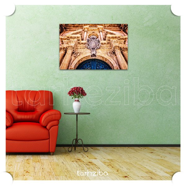 تزیین دیوار منزل با تابلوهای دیواری و شیک