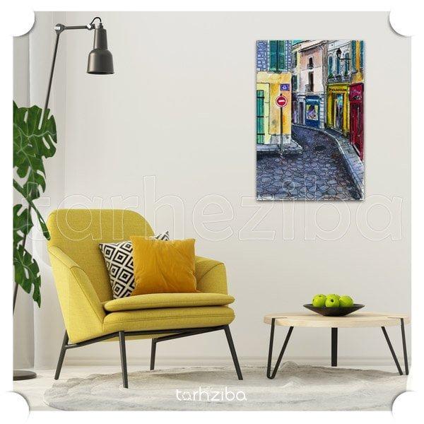 تابلو نقاشی چاپی ، خرید تابلو برای پذیرایی ، خرید تابلو تزیینی ، تابلو دکوراتیو و مدرن