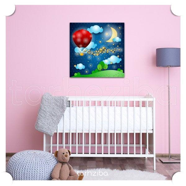 تابلو اتاق کودک دختر
