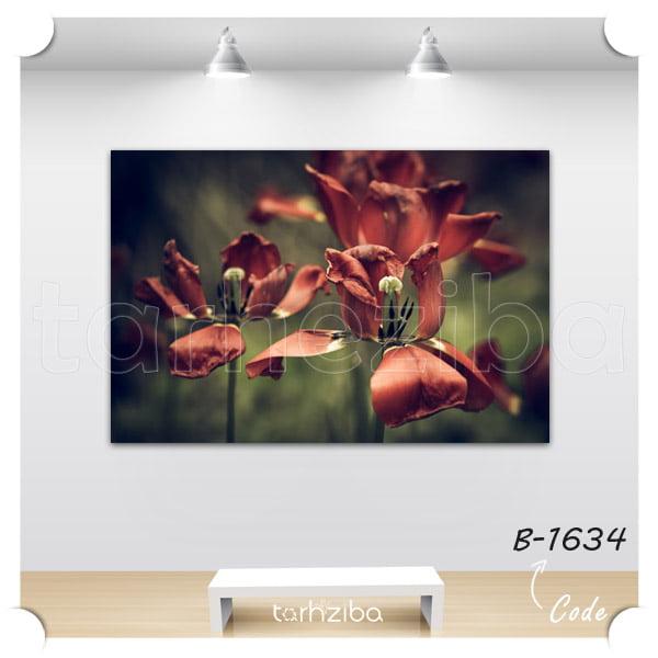 فروش تابلو تزیینی منظره گلهای زیبا